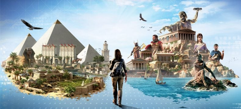 Assassin's Creed Odyssey y Origins gratis en su versión educativa