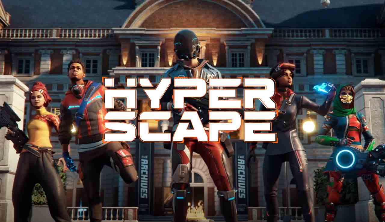 La beta de Hyper Scape ya está disponible para los usuarios de PC