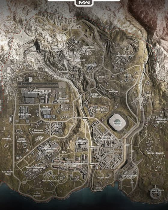 Mapa original de Warzone ya no estará disponible
