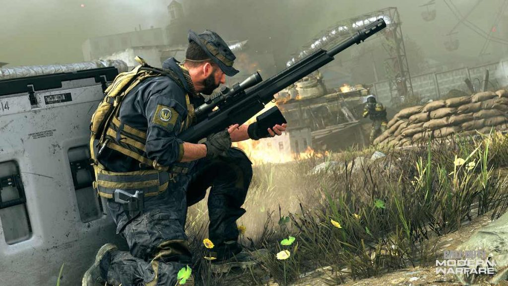 desbloqueando El sniper AMR en Call of Duty Modern Warfare