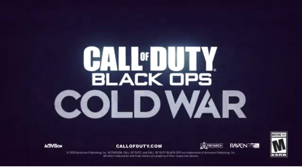 Activision confirma Call of Duty Black Ops Cold War