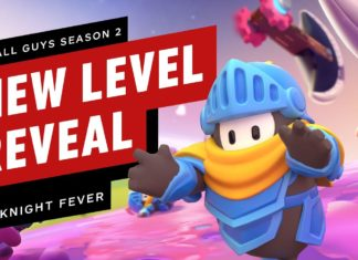 Nuevo nivel Knight Fever para Fall Guys