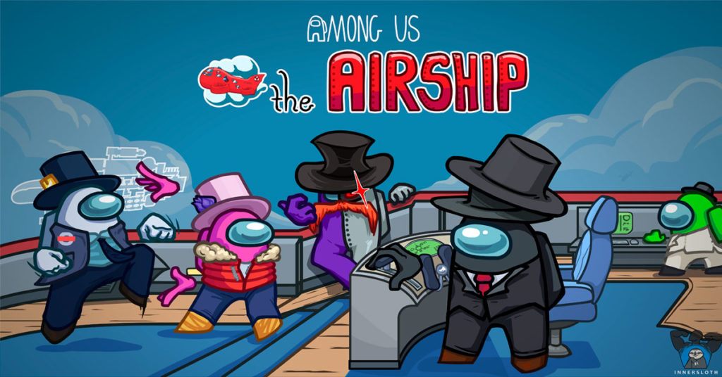 The AirShip Among Us Nuevo Mapa Among Us